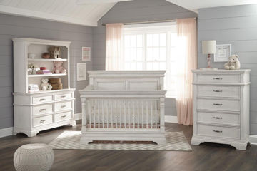 Picture of Kerrigan White Crib Furniture Packages