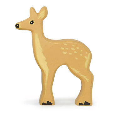 Picture of Fallow Deer Wooden Animal by  TenderLeaf Toys