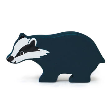 Picture of Badger Wooden Animal by  TenderLeaf Toys