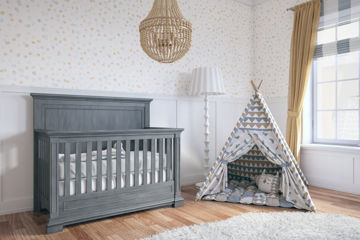 Picture of Jackson Storm Nursery Packages- by Silva Furniture