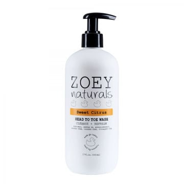 Picture of Zoey Naturals Sweet Citrus Head to Toe Wash - 17 oz.