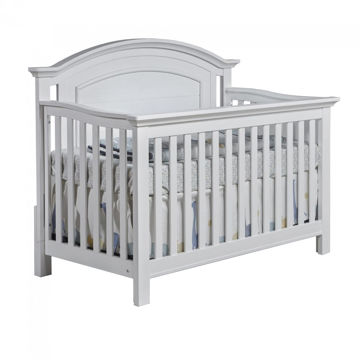 Picture of Como Arch Top Forever Crib - Vintage White - by Pali Furniture