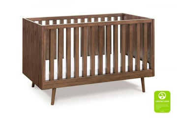 Picture of Ubabub Nifty Timber 3-In-1 Crib - Walnut
